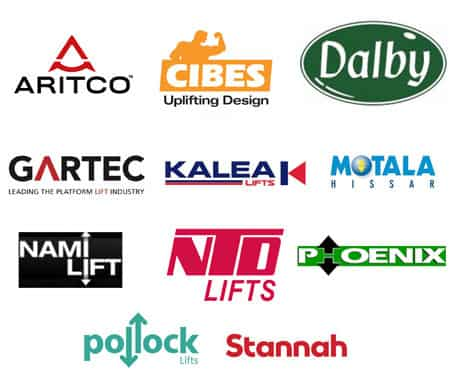 Logos of the brands we service
